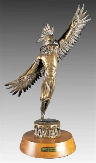 Spirit of the Thunderbird by Chris Navarro (1956- )