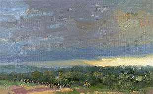 Early Gathering by Bruce Greene (1953- )