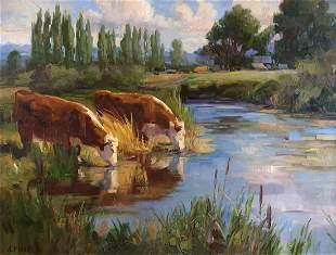 Watering Hole by Robert Moore (1957- )