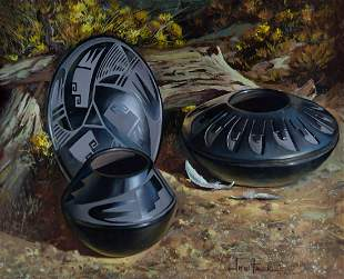 Tribal Patterns by Joni Falk (1933- )