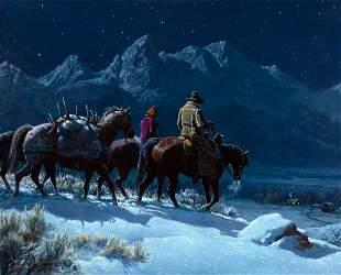 Sweet Wyoming Home by Clark Kelley Price (1945- )