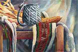 Ancient Mug by Carol Hamilton (1948- )