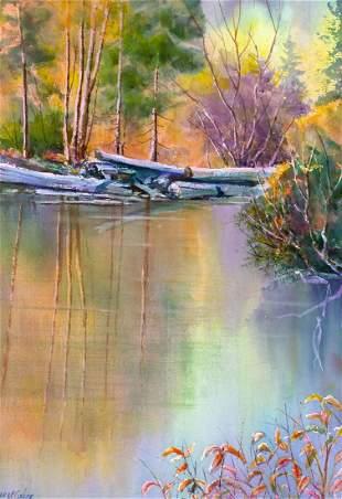 Quiet Water by Bill McCusker (1929- )