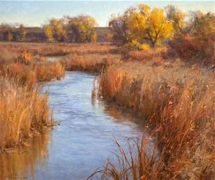 Boone Creek by Clyde Aspevig (1951- )
