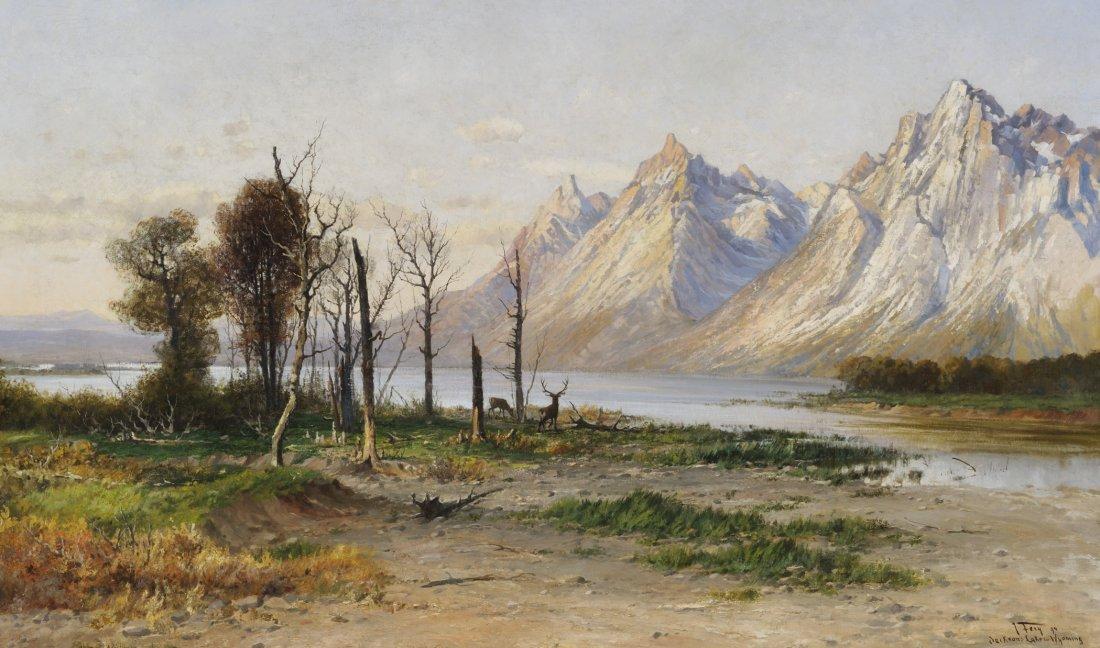 8: Jackson Lake in Wyoming, 1894