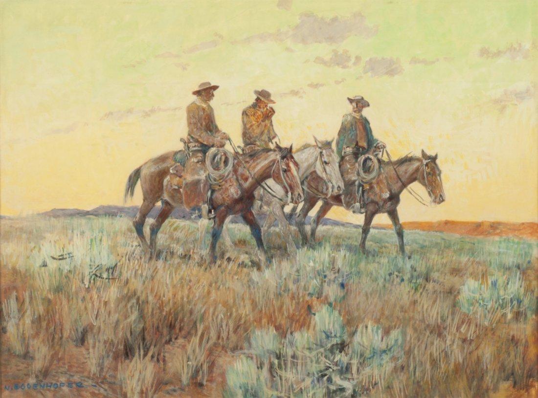 14: Three Cowboys,