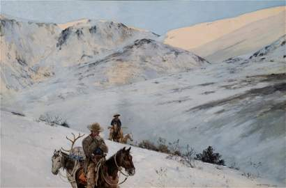 Returning Hunters, 1889