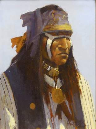 Apache Warrior by Richard D. Thomas