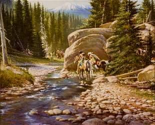 Ambush at Medicine Creek by Stan Davis