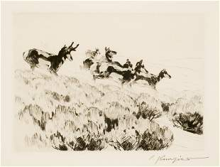 Antelope by Carl Rungius