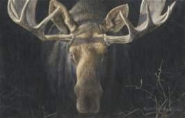 Moose by Robert Bateman