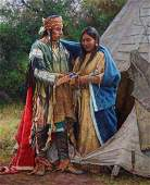Courtship by Martin Grelle