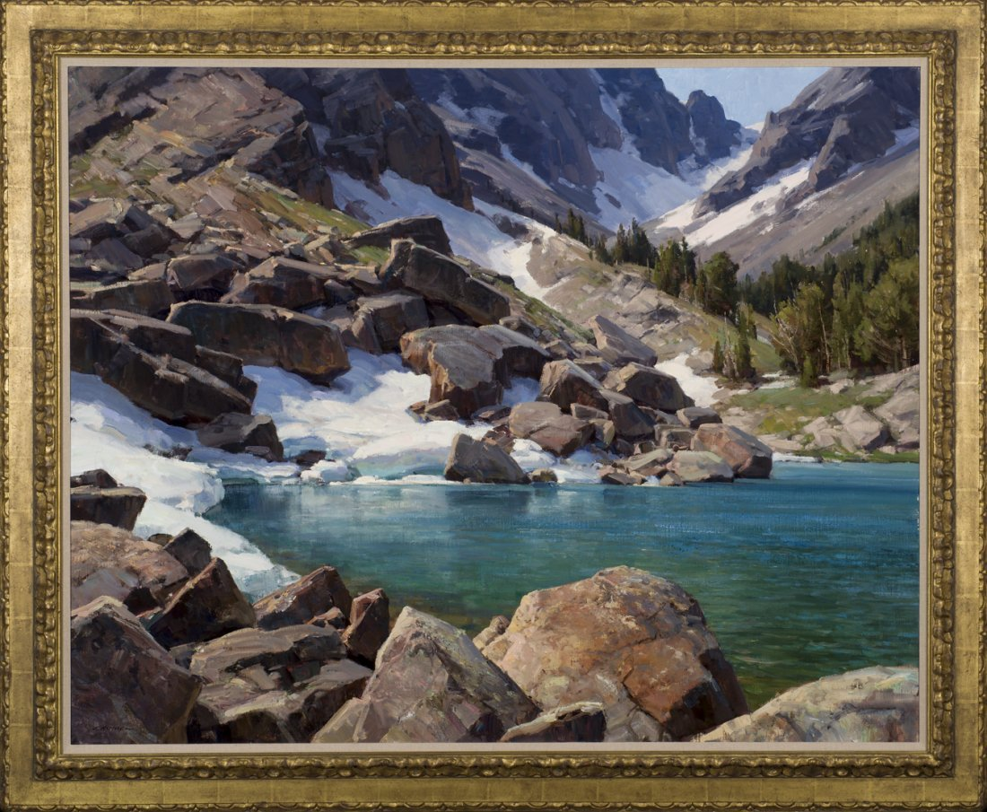 Lake of the Winds (Shirley Lake) by Clyde Aspevig - 2