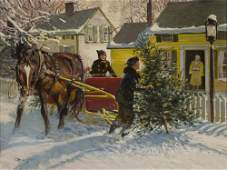 Christmas in Connecticut by Robert Lougheed