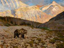 Grizzly Bear by Carl Rungius