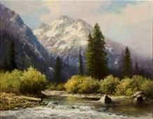 Cascade Canyon II by Robert Wood