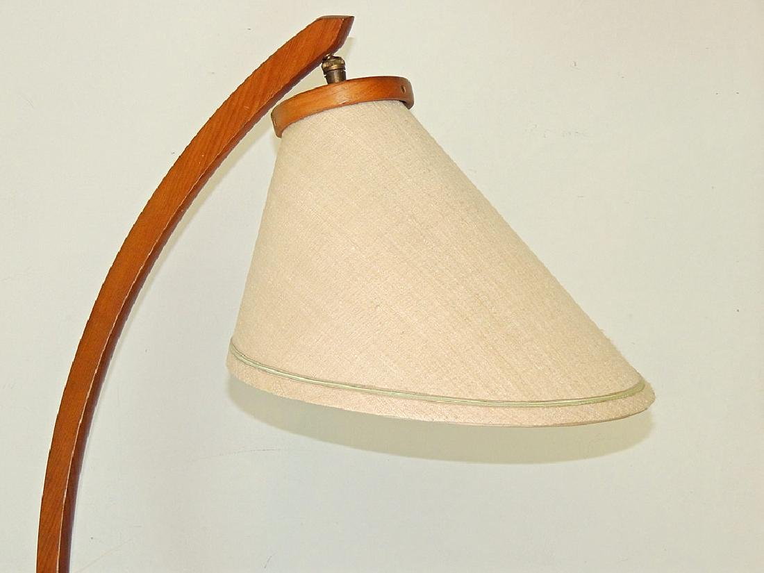 Modernist Teak Floor Lamp - 2