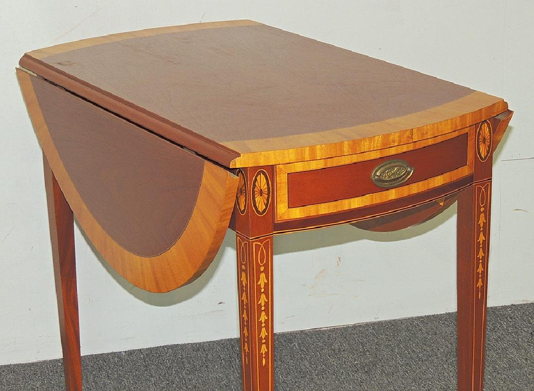 Cabinet-Made Federal-style Pembroke Table - 2