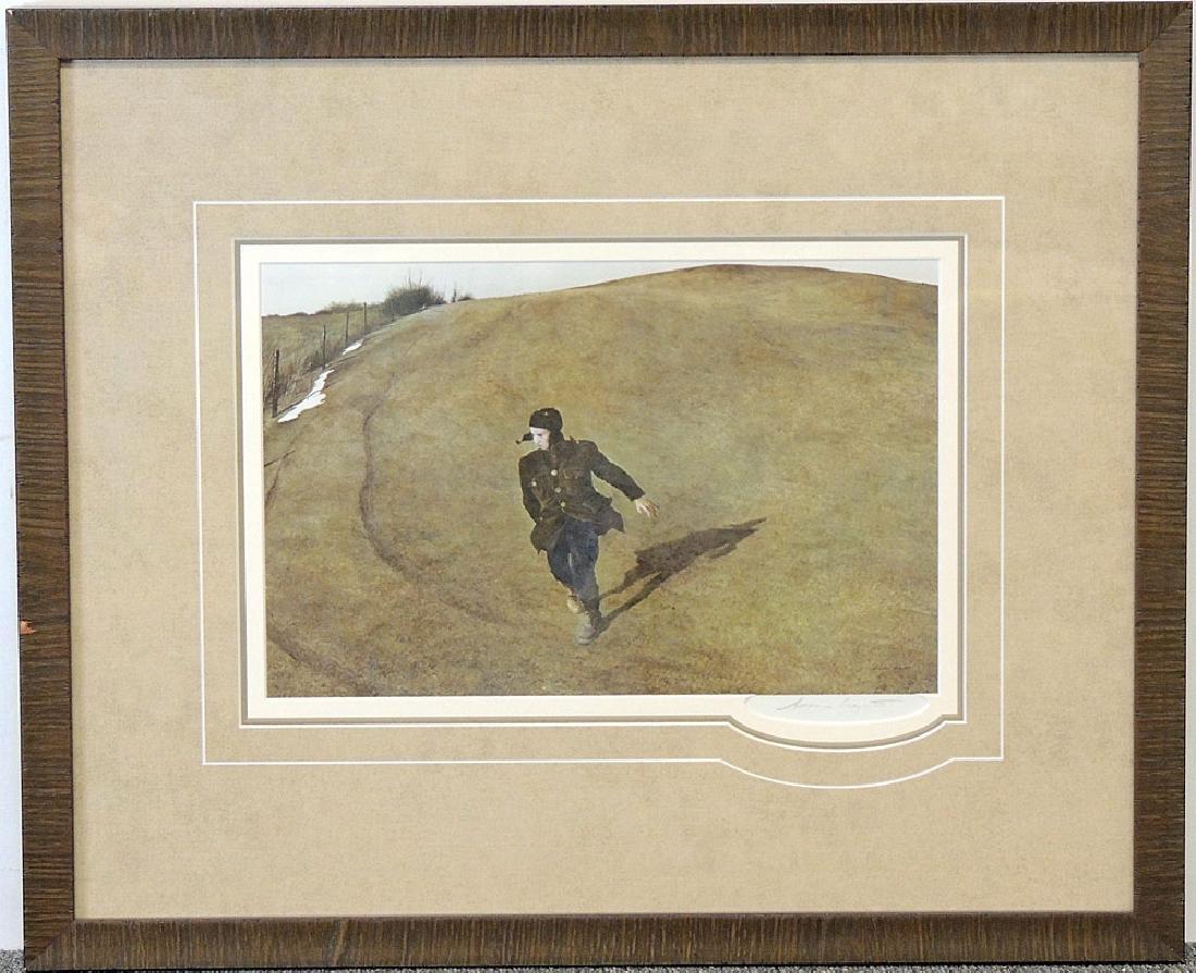Andrew Wyeth Print, Winter 1946