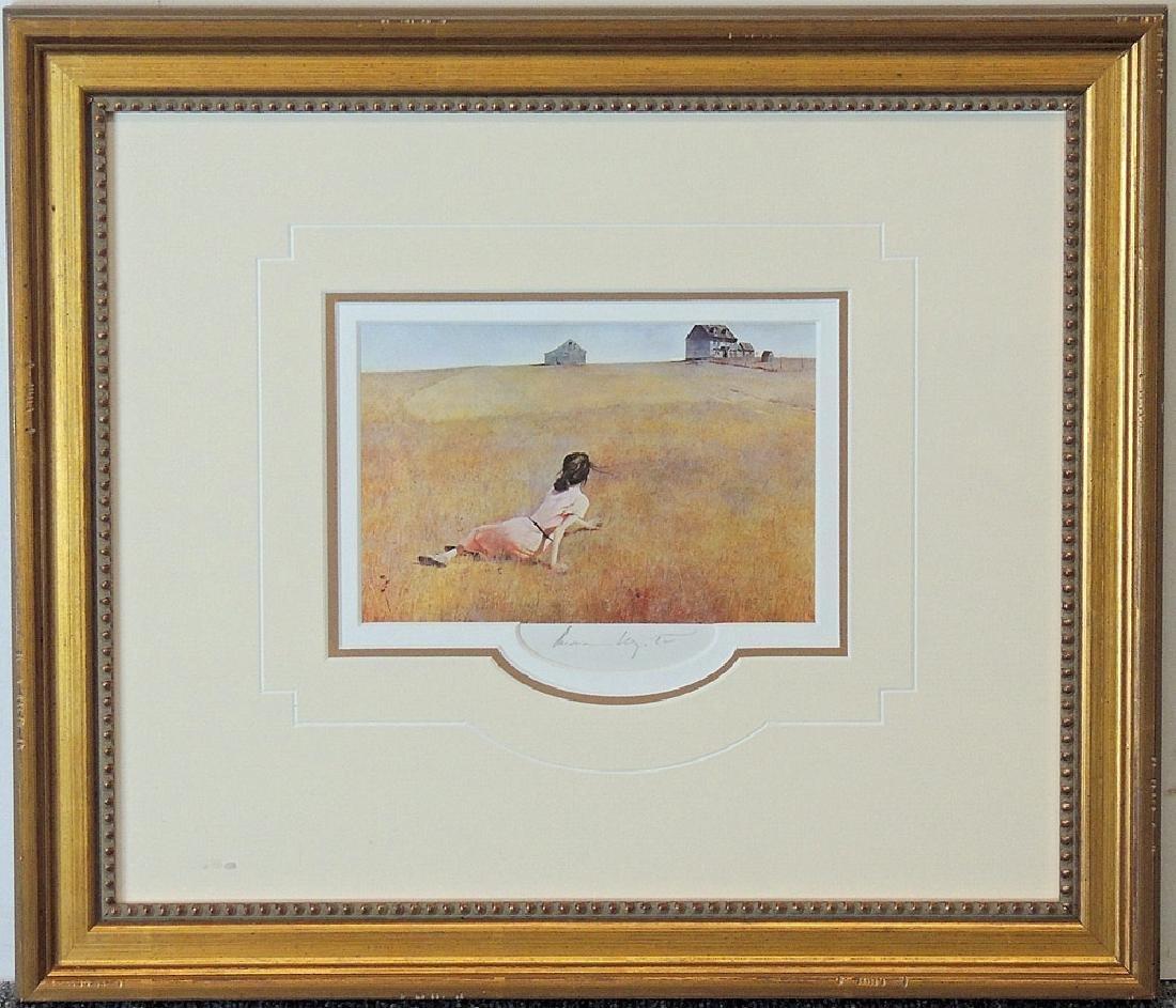 Andrew Wyeth Print, Christina's World