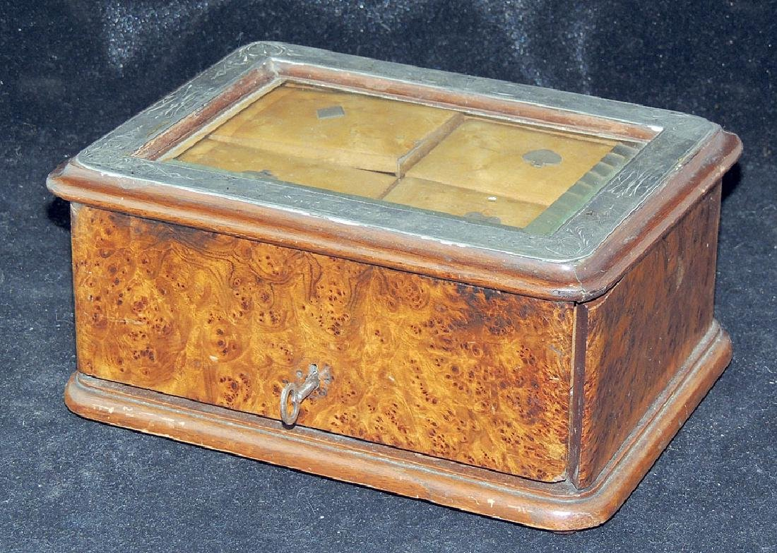 Burl Wood Presentation Box