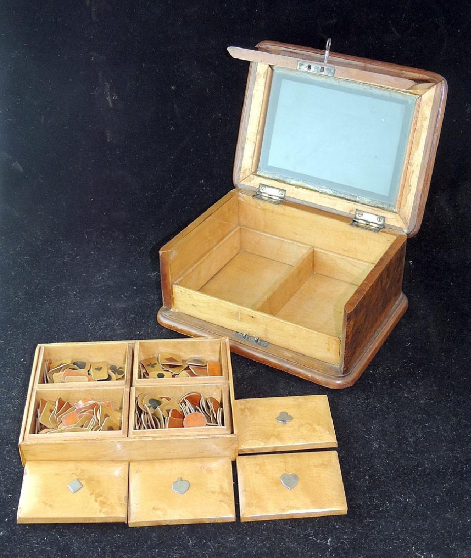 Burl Wood Presentation Box - 3