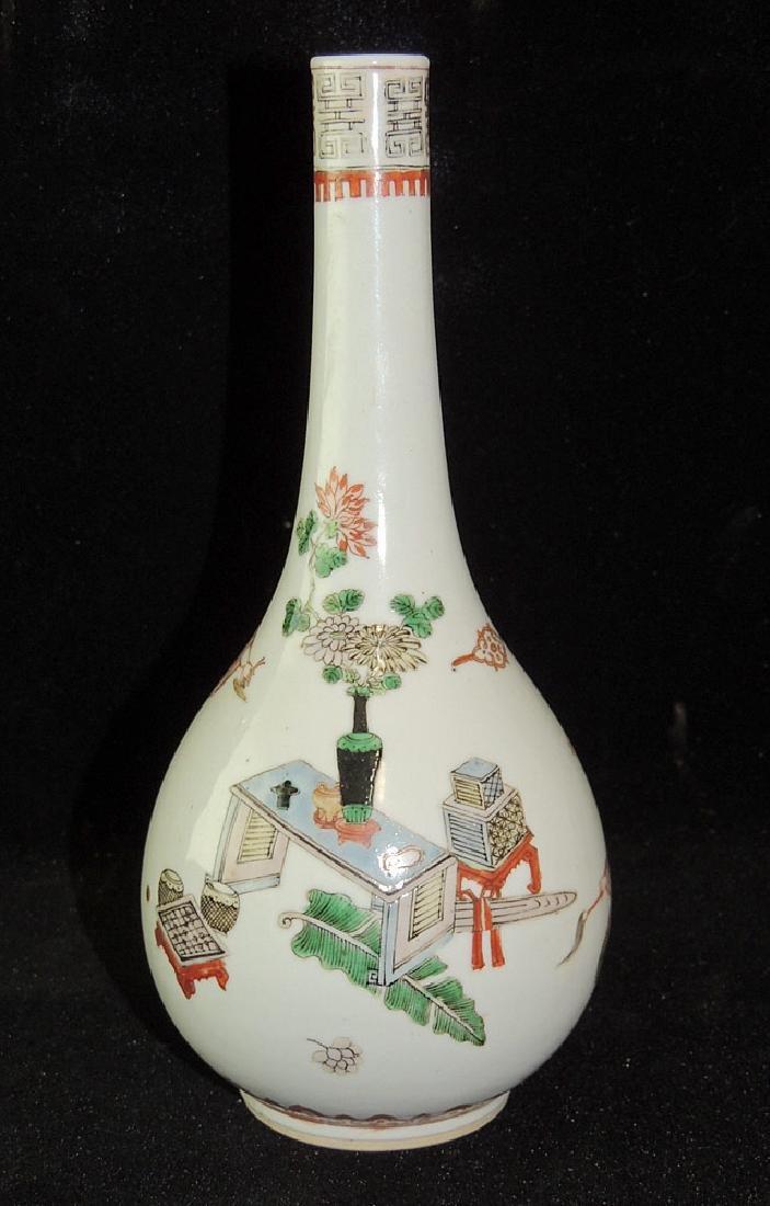Chinese Porcelain Bottle Vase - 3