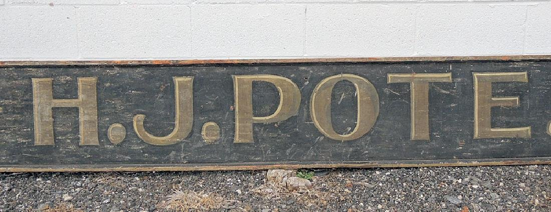19th C. Painted Wood Trade Sign - 3