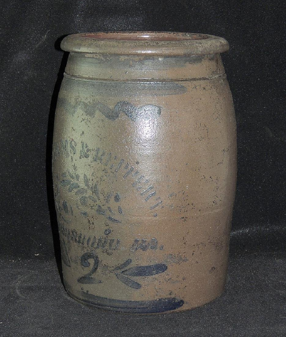 Williams & Reppert Stoneware Crock - 2