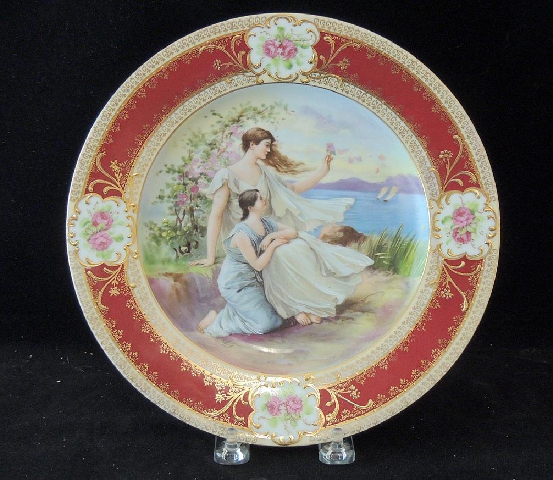 Royal Vienna Cabinet Plate