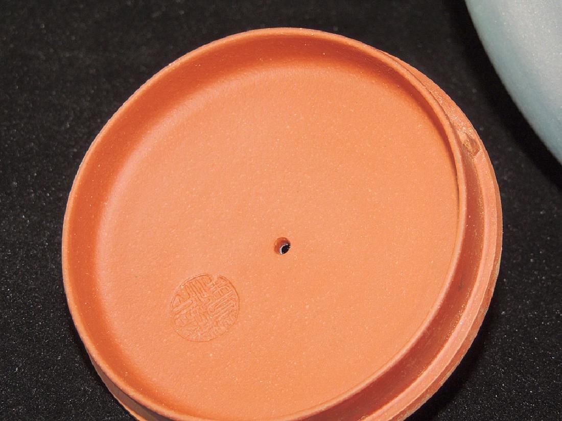 Chinese Yixing Pottery Teapot - 4