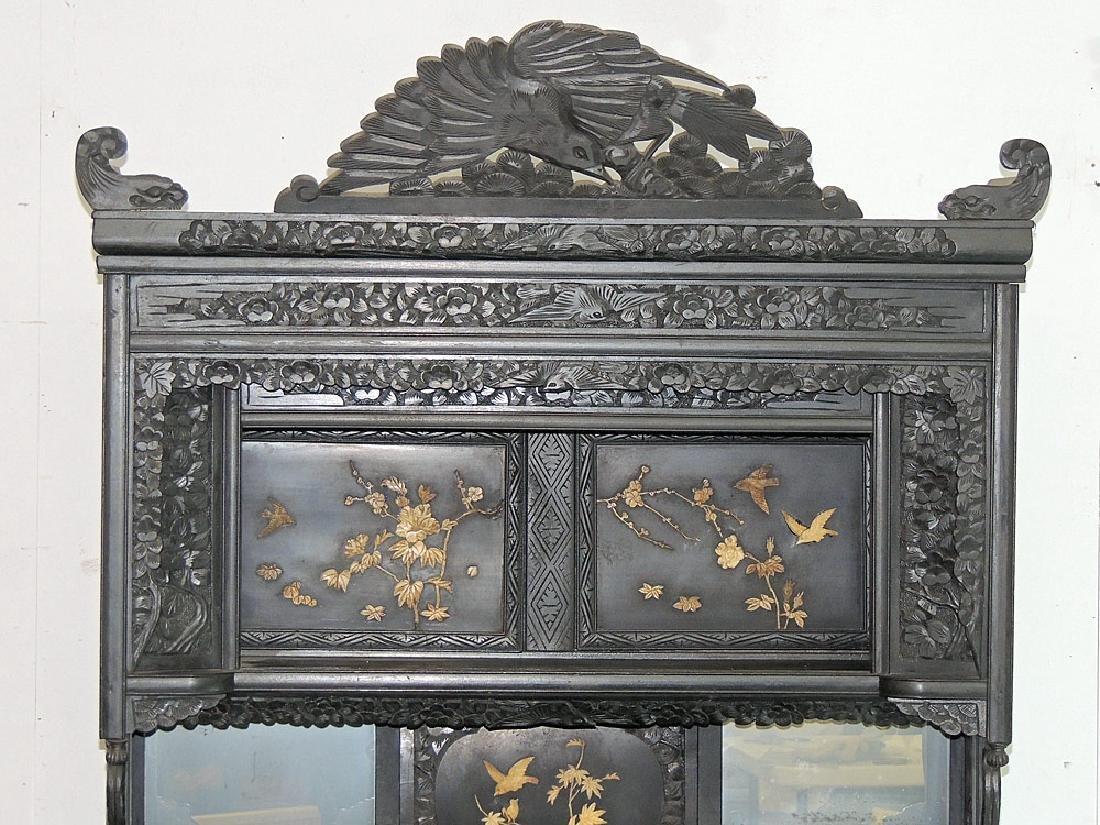 Asian Carved Etagére - 2