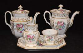 Paris Porcelain Tea Service