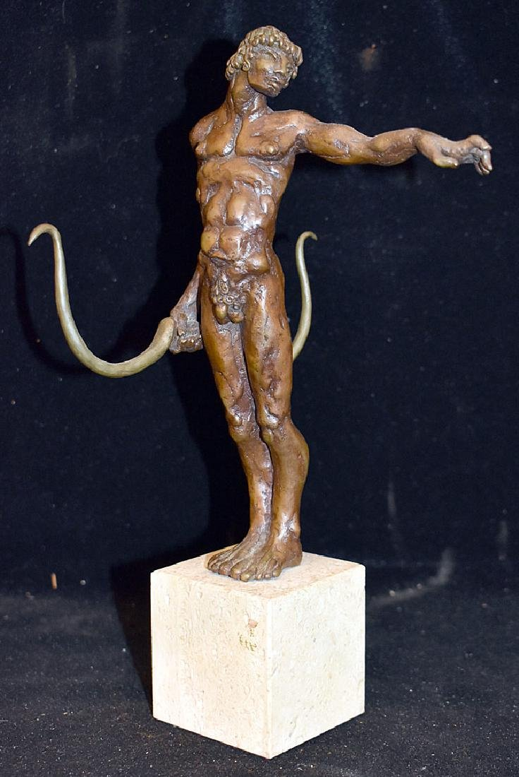 Bronze Sculpture of an Archer