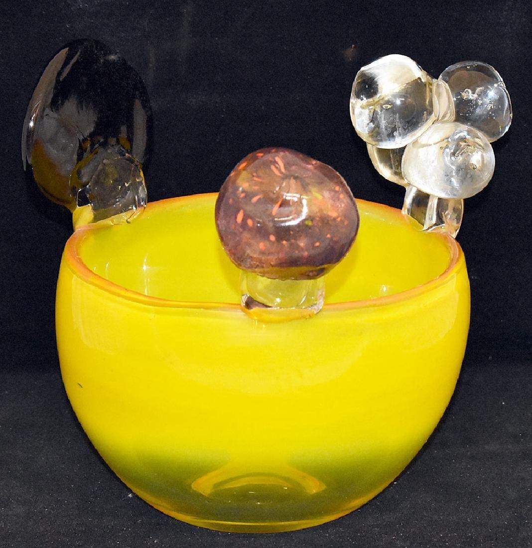 Oiva Toikka Art Glass Bowl