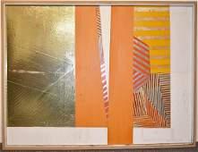 John Hanlen Acrylic on Masonite Panel, Rainbow