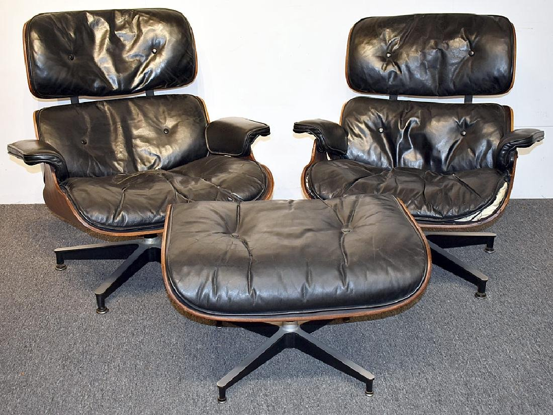3-pc. Charles & Ray Eames/Herman Miller Set