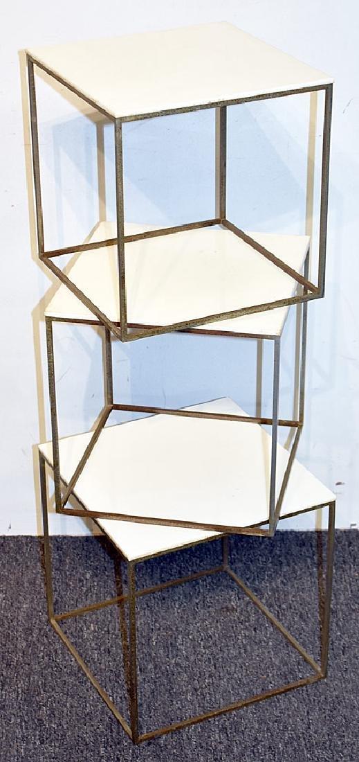 Nest of Three Poul Kjaerholm PK71 Tables