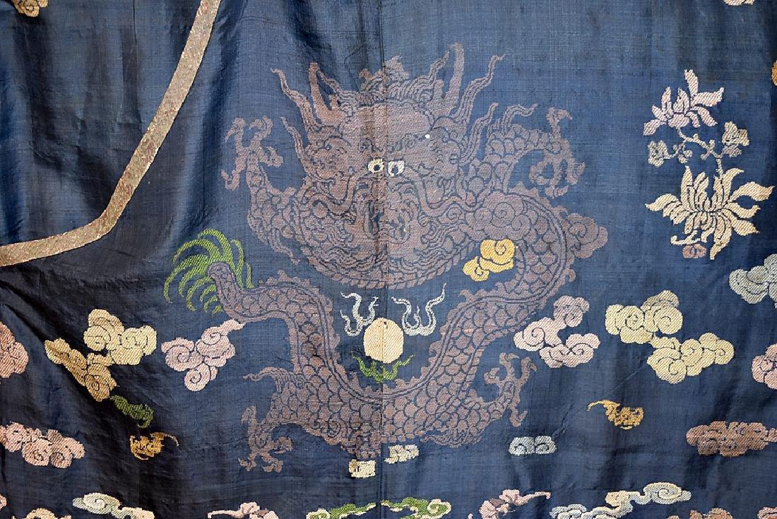 Japanese Embroidered Silk Kimono - 3