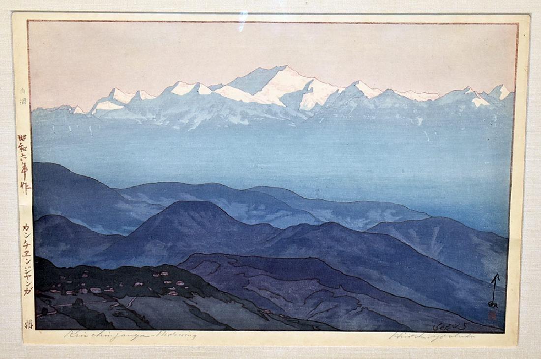 Three Yoshida Woodblock Prints - 2