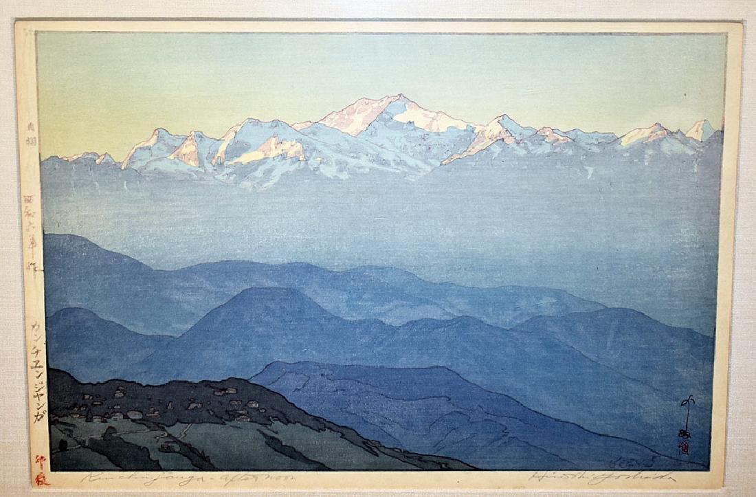 Three Yoshida Woodblock Prints - 3