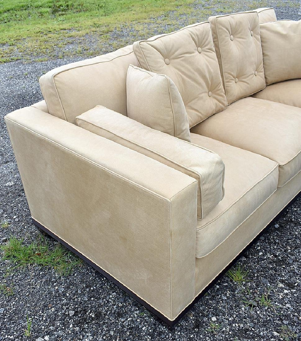 Baker Leather Sofa - 2