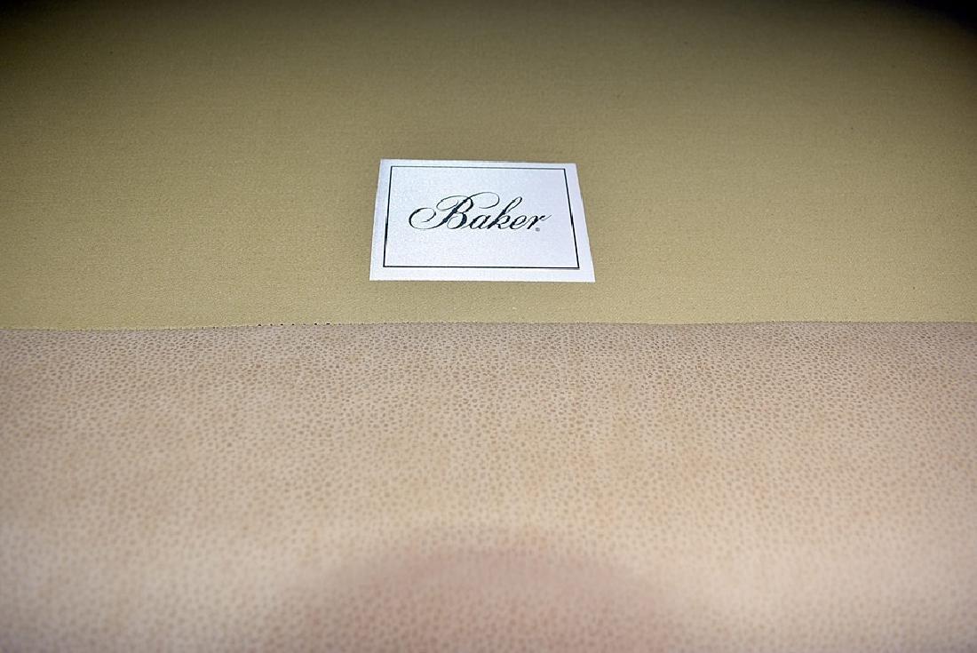 Baker Leather Sofa - 3
