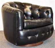 Milo Baughman/Thayer Coggin Swivel Lounge Chair