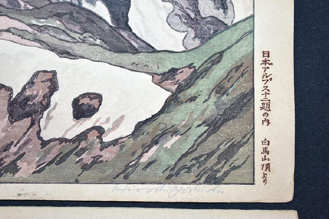 Two Hiroshi Yoshida Woodblock Prints - 3