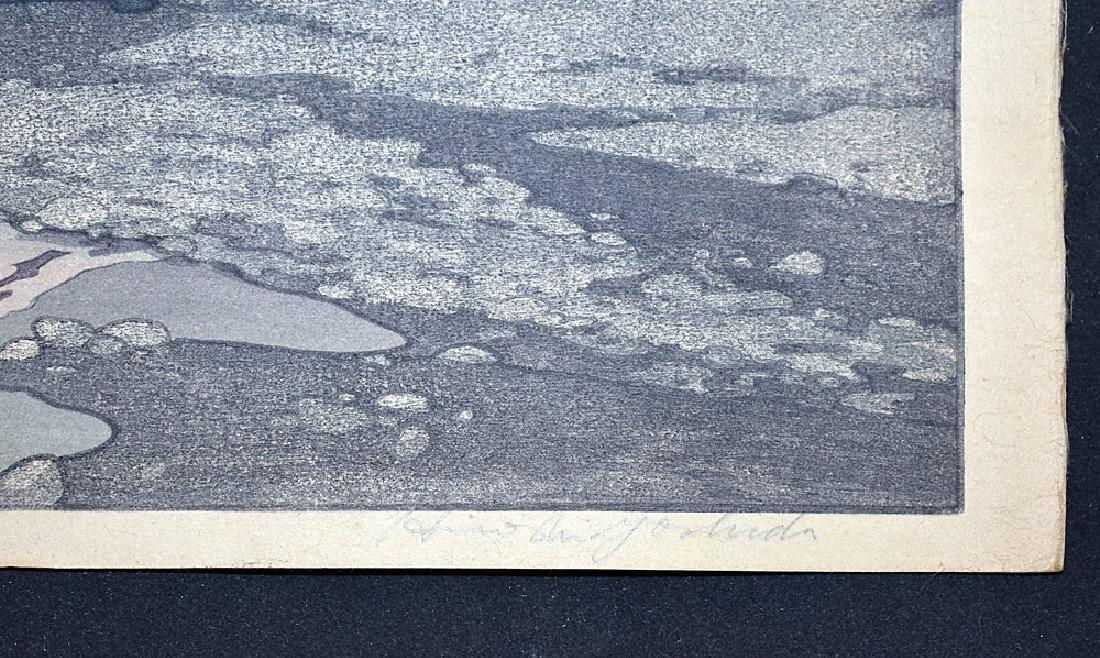 Two Hiroshi Yoshida Woodblock Prints - 6