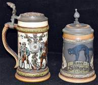 Two Mettlach Steins 1530 and 2007
