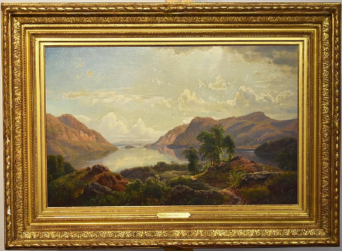 Edmund Darch Lewis Oil on Canvas, Landscape