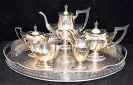 Gorham Sterling Silver 5-pc. Coffee/Tea Service