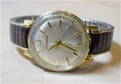 Man's 18K Accutron by Bulova Wristwatch